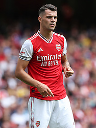 Granit Xhaka of Arsenal - Mandatory by-line: Arron Gent/JMP - 28/07/2019 - FOOTBALL - Emirates Stadium - London, England - Arsenal v Olympique Lyonnais - Emirates Cup