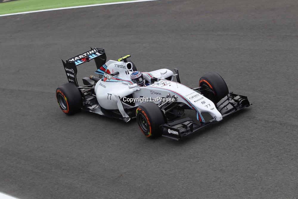 &copy; Photo4 / LaPresse<br /> 05/09/2014 Monza, Italy<br /> Sport <br /> Grand Prix Formula One Italy 2014<br /> In the pic: Valtteri Bottas (FIN) Williams F1 Team FW36