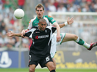 v.l. Kahe, Per Mertesacker Bremen<br /> Bundesliga SV Werder Bremen - Borussia Moenchengladbach <br />  Norway only