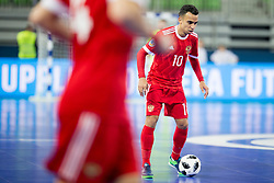 Robinho of Russia during futsal match between Russia and Poland at Day 1 of UEFA Futsal EURO 2018, on January 30, 2018 in Arena Stozice, Ljubljana, Slovenia. Photo by Urban Urbanc / Sportida