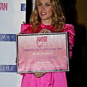 NLD/Amsterdam/20081103 - Uitreiking Cosmopollitan Awards 2008, uitreiking diverse make up awards, Claudia Straatmans