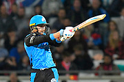 Joe Clarke of Worcestershire batting during the final of the Vitality T20 Finals Day 2018 match between Worcestershire Rapids and Sussex Sharks at Edgbaston, Birmingham, United Kingdom on 15 September 2018.