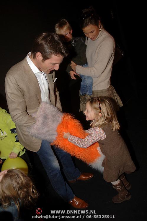 NLD/Amsterdam/20060129 - Premiere musical Muis, Prins Maurits, prinses Marilene en kinderen Anna en Lucas