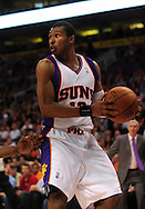 Mar. 19 2010; Phoenix, AZ, USA; Phoenix Suns guard Leandro Barbosa (10) during the first half at the US Airways Center.  The Suns defeated the Jazz 110-100. Mandatory Credit: Jennifer Stewart-US PRESSWIRE.