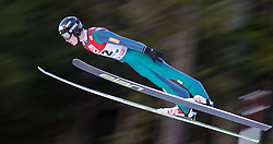 19.12.2014, Nordische Arena, Ramsau, AUT, FIS Nordische Kombination Weltcup, Skisprung, PCR, im Bild Han Hendrik Piho (EST) // during Ski Jumping of FIS Nordic Combined World Cup, at the Nordic Arena in Ramsau, Austria on 2014/12/19. EXPA Pictures © 2014, EXPA/ JFK