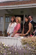 Angelica Huston, Sabrina Guinness and Martine McCutcheon,  . Cartier International Day at Guards Polo Club, Windsor Great Park. July 24, 2005. ONE TIME USE ONLY - DO NOT ARCHIVE  © Copyright Photograph by Dafydd Jones 66 Stockwell Park Rd. London SW9 0DA Tel 020 7733 0108 www.dafjones.com