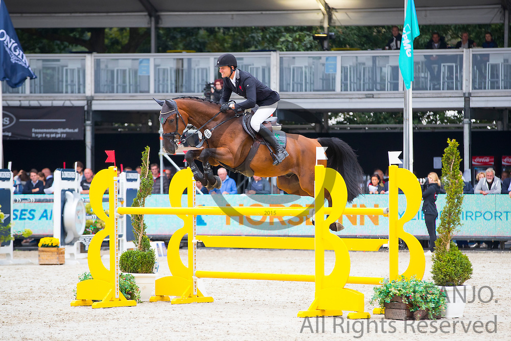 Stephan Naber - Sympatico<br /> FEI World Breeding Jumping Championships for Young Horses 2016<br /> © DigiShots