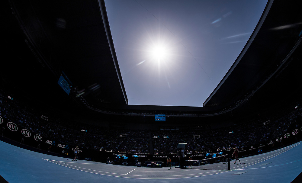 A general view of Rod Laver Arena on day nine of the 2018 Australian Open in Melbourne Australia on Wednesday January 24, 2018.<br /> (Ben Solomon/Tennis Australia)