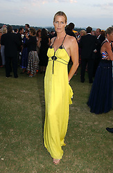 INDIA HICKS at the Cowdray Gold Cup Golden Jubilee Ball held at Cowdray Park Polo Club, on 21st July 2006.<br /><br />NON EXCLUSIVE - WORLD RIGHTS