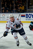 KELOWNA, BC - MARCH 09: Martin Lang #22 of the Kamloops Blazers skates against the Kelowna Rockets at Prospera Place on March 9, 2019 in Kelowna, Canada. (Photo by Marissa Baecker/Getty Images)