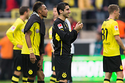 19.10.2013, Signal Iduna Park, Dortmund, GER, 1. FBL, GER, 1. FBL, Borussia Dortmund vs Hannover 96, 9. Runde, im Bild Henrikh Mkhitaryan (#10 Dortmund) nach dem Sieg // during the German Bundesliga 9th round match between Borussia Dortmund and Hannover 96 Signal Iduna Park in Dortmund, Germany on 2013/10/19. EXPA Pictures &copy; 2013, PhotoCredit: EXPA/ Eibner-Pressefoto/ Kurth<br /> <br /> *****ATTENTION - OUT of GER*****