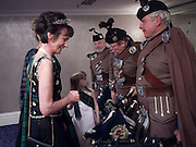 IONA DUCHESS OF ARGYLL;   The Royal Caledonian Ball 2010. Grosvenor House. Park Lane. London. 30 April 2010 *** Local Caption *** -DO NOT ARCHIVE-© Copyright Photograph by Dafydd Jones. 248 Clapham Rd. London SW9 0PZ. Tel 0207 820 0771. www.dafjones.com.<br /> IONA DUCHESS OF ARGYLL;   The Royal Caledonian Ball 2010. Grosvenor House. Park Lane. London. 30 April 2010