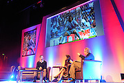 Julian Speroni discuss' his early days during The gloves are off. An Evening With Julian Speroni at  at Fairfields Hall, Croydon, United Kingdom on 20 January 2015. Photo by Michael Hulf.