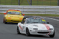 #169 George GRANT Mazda MX-5 Mk1  during BRSCC Mazda MX-5 Championship  as part of the BRSCC NW Mazda Race Day  at Oulton Park, Little Budworth, Cheshire, United Kingdom. June 16 2018. World Copyright Peter Taylor/PSP. Copy of publication required for printed pictures. http://archive.petertaylor-photographic.co.uk