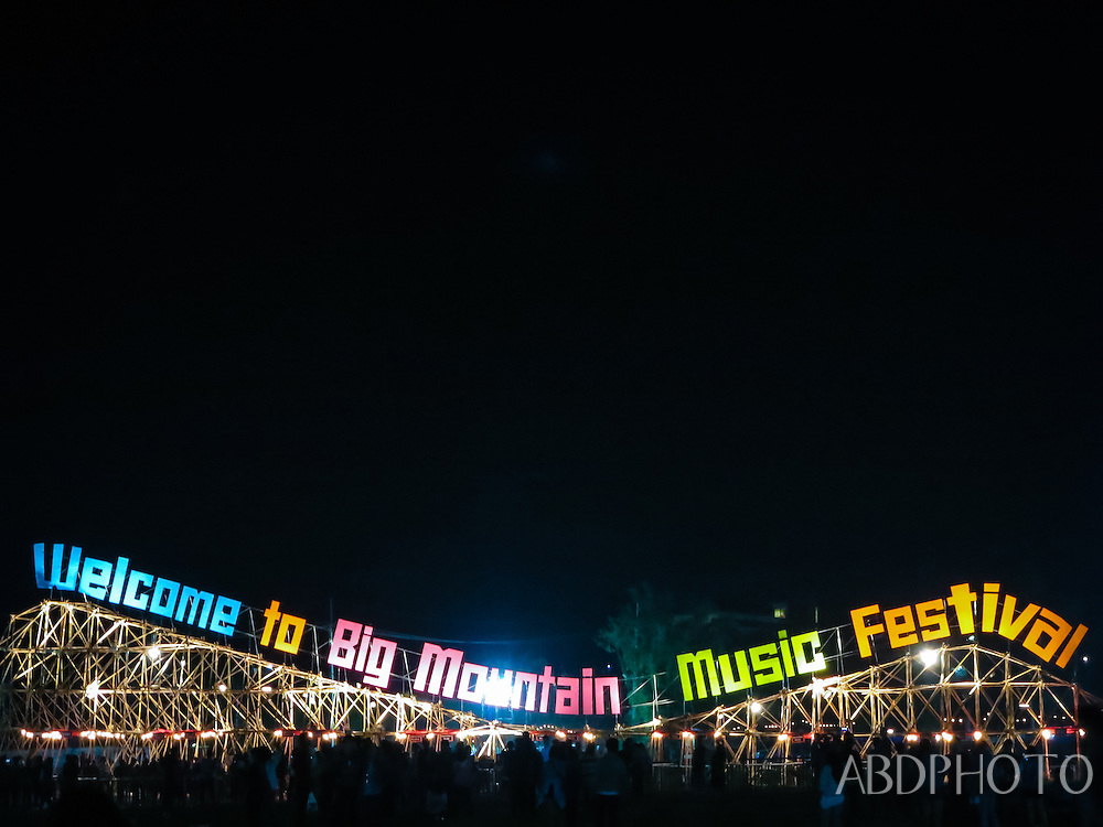 Big Mountain Music Festival Khao Yai National Park Thailand