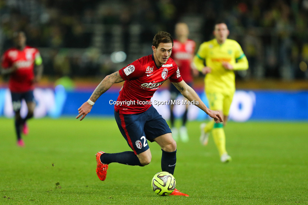 Nolan ROUX - 31.01.2015 - Nantes / Lille - 23eme journee de Ligue 1 -<br />