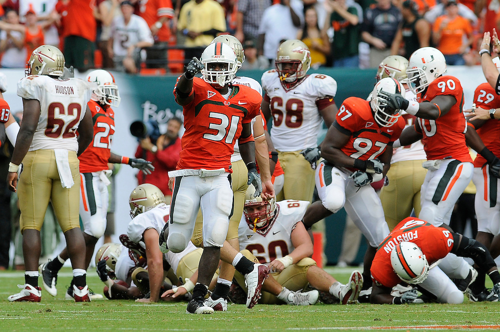 2008 Miami Hurricanes Football vs FSU