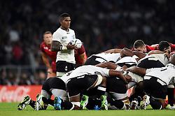 Nikola Matawalu of Fiji - Mandatory byline: Patrick Khachfe/JMP - 07966 386802 - 18/09/2015 - RUGBY UNION - Twickenham Stadium - London, England - England v Fiji - Rugby World Cup 2015 Pool A.