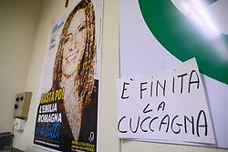 LUCIA BORGONZONI E' FINITA LA CUCCAGNA<br /> ELEZIONI REGIONALI SEDE LEGA FERRARA