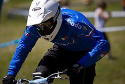 of Elite Men category at MTB Downhill European Championships, on June 14, 2009, at Kranjska Gora, Slovenia. (Photo by Vid Ponikvar / Sportida)