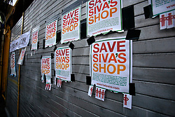 UK ENGLAND LONDON 19AUG11 - The devastated convenience store owned by Siva Kandiah in Clarence Road, Hackney, east London. During the August riots in London, Clarence Road in Hackney featured some of the most devastating scenes of looting and violence. Local shopkeeper Siva Kandiah ran the Clarence Convenience Store for 11 years - and had to watch as it was ransacked and destroyed, leaving him with no stock, no money in the till, and no store. ..jre/Photo by Jiri Rezac..© Jiri Rezac 2011