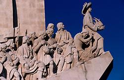 PORTUGAL LISBON MAY99 - Detail of the Monumento dos Descobrimentos, a recent celebration of Portuguese explorers.....jre/Photo by Jiri Rezac....© Jiri Rezac 1999....Tel:   +44 (0) 7050 110 417..Email: info@jirirezac.com..Web:   www.jirirezac.com