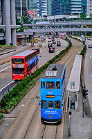 Chine, Hong Kong, Hong Kong Island, Causeway Road // China, Hong-Kong, Hong Kong Island, Causeway Road