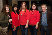 Mona McArdle, Anto Van Ravestijn, Maree, Jennie McGinley and Deirdre Flanagan, Clarenbridge  and Ben McCormack, Kinvara  at Choir Factor in the Radisson Blu.<br /> Choir Factor is a fundraiser for The Sccul Sanctuary, Therapeutic Support Centre in Kilcornan Clarenbrdge.<br /> <br />  Photo:Andrew Downes, xposure.