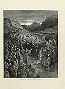 Priests Exhorting Crusaders Plate XII from the book Story of the crusades. with a magnificent gallery of one hundred full-page engravings by the world-renowned artist, Gustave Doré [Gustave Dore] by Boyd, James P. (James Penny), 1836-1910. Published in Philadelphia 1892