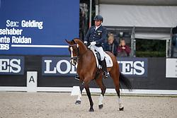 Belmonte Roldan Cristobal, ESP, Santos Old<br /> Longines FEI/WBFSH World Breeding Dressage Championships for Young Horses - Ermelo 2017<br /> © Hippo Foto - Dirk Caremans<br /> 05/08/2017