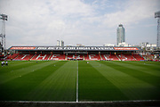 Griffin Park Stadium during the EFL Sky Bet Championship match between Brentford and Queens Park Rangers at Griffin Park, London, England on 21 April 2018. Picture by Andy Walter.