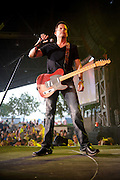 "Photos of country singer Gary Allan performing on ""The Last Rodeo Tour,"" photographed in St. Louis on August 7, 2010."