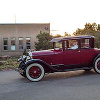 1926 Cadillac Series 314 Victoria Coupe, on the 2012 Santa Fe Concorso High Mountain Tour.