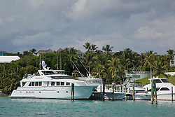 Sheriff's boat in the Bahamas.