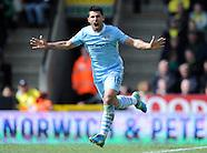 Norwich City v Manchester City 140412