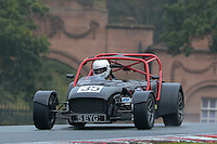 #35 Charles Holroyd Caterham CSR 2300 during the CSCC Gold Arts Magnificent Sevens at Oulton Park, Little Budworth, Cheshire, United Kingdom. October 15 2016. World Copyright Peter Taylor/PSP. <br /> Copy of publication required for printed pictures.  Every used picture is fee-liable. http://archive.petertaylor-photographic.co.uk