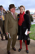 Charles Rogers-Coltman and Lady Linithglow. Ludlow Charity Race Day,  in aid of Action Medical Research. Ludlow racecourse. 24 march 2005. ONE TIME USE ONLY - DO NOT ARCHIVE  © Copyright Photograph by Dafydd Jones 66 Stockwell Park Rd. London SW9 0DA Tel 020 7733 0108 www.dafjones.com