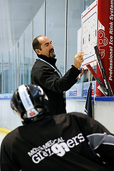 04.08.2011, UPC Arena, Graz, AUT, EBEL, Trainig, im Bild Mario Richer (Graz 99ers Headcoach) // during the Erste Bank Icehockey League, UPC Arena, Graz, Austria, 2011-08-04, EXPA Pictures © 2011, PhotoCredit: EXPA/ E. Scheriau