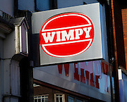 Wimpy. High street shops and shopping,  January 2009, Lowestoft, Suffolk, England