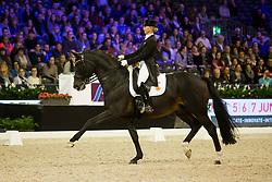 Von Bredow-Werndl Jessica, GER, Unee BB<br /> Jumping Amsterdam 2018<br /> © Sharon Vandeput<br /> 26/01/18