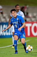 SYDNEY, NSW - MARCH 06: Ulsan Hyundai FC player Sin Jin Ho (10) controls the ball at AFC Champions League Soccer between Sydney FC and Ulsan Hyundai FC on March 06, 2019 at Netstrata Jubilee Stadium, NSW. (Photo by Speed Media/Icon Sportswire)