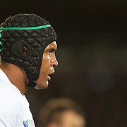 French Captain Thierry Dusautoir  during the New Zealand V France Final at the IRB Rugby World Cup tournament, Eden Park, Auckland, New Zealand. 23rd October 2011. Photo Tim Clayton...