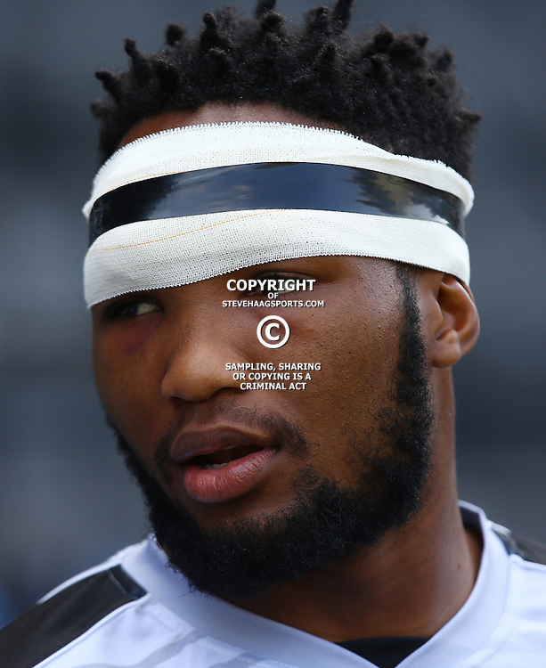 DURBAN, SOUTH AFRICA, 6 September, 2016 - Lukhanyo Am during The Cell C Sharks training session at Growthpoint Kings Park in Durban, South Africa. (Photo by Steve Haag)<br /> <br /> images for social media must have consent from Steve Haag