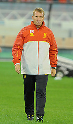 MELBOURNE, AUSTRALIA - Tuesday, July 23, 2013: Liverpool's manager Brendan Rodgers during a training session at the Melbourne Cricket Ground ahead of their preseason friendly against Melbourne Victory. (Pic by David Rawcliffe/Propaganda)