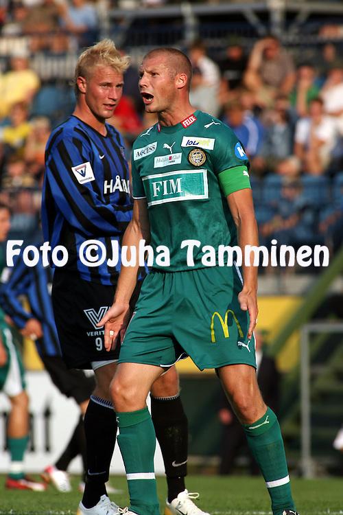 10.08.2006, Veritas Stadion, Turku, Finland..Veikkausliiga 2006 - Finnish League 2006.FC Inter Turku - FC TPS Turku.Jussi Nuorela - TPS.©Juha Tamminen.....ARK:k