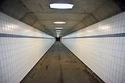 Nederland, Venraij, 25-11-2012Tunnel, voetgangerstunnel,fietstunnel, onder een snelweg door.Foto: Flip Franssen/Hollandse Hoogte