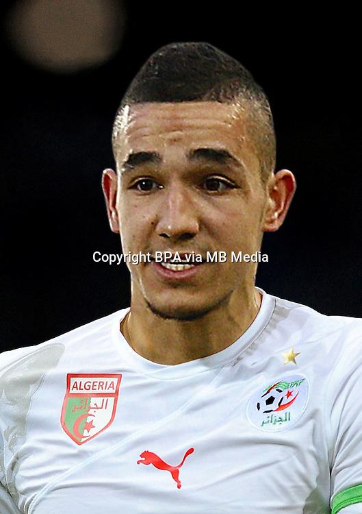Football Fifa Brazil 2014 World Cup / <br /> Algeria National Team - <br /> Nabil Bentaleb of Algeria