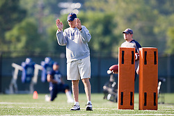 Virginia head coach Al Groh.  The Virginia Cavaliers football team during an open practice on August 16, 2008 at the University of Virginia's football turf field in Charlottesville, VA.