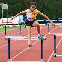 B Div Girls 400m Hurdles
