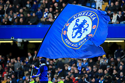 Chelsea flag waves before kick off - Mandatory by-line: Jason Brown/JMP - 26/12/2016 - FOOTBALL - Stamford Bridge - London, England - Chelsea v Bournemouth - Premier League